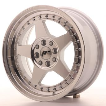 Japan Racing Wheels - JR-6 Silver Machined (16x7 inch)