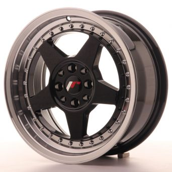 Japan Racing Wheels - JR-6 Glossy Black (16x7 inch)