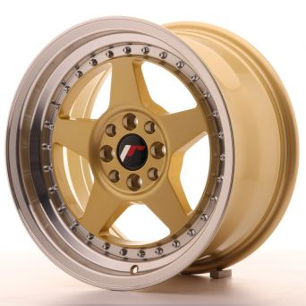 Japan Racing Wheels - JR-6 Gold (16x8 inch)