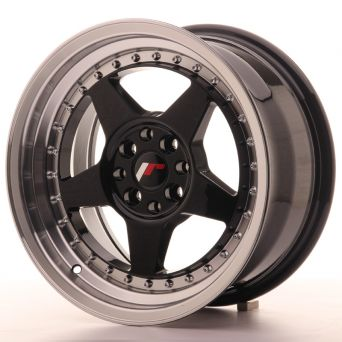 Japan Racing Wheels - JR-6 Glossy Black (16x8 inch)