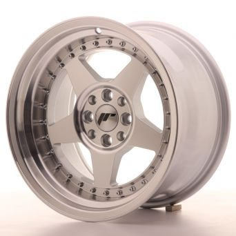 Japan Racing Wheels - JR-6 Silver Machined (16x9 inch)