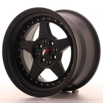 Japan Racing Wheels - JR-6 Matt Black (16x8 inch)