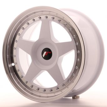 Japan Racing Wheels - JR-6 White (17x8 inch)