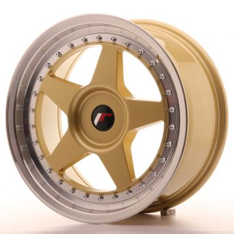 Japan Racing Wheels - JR-6 Gold (17x8 inch)