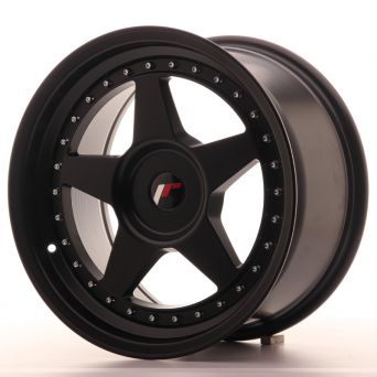 Japan Racing Wheels - JR-6 Matt Black (17x10 inch)