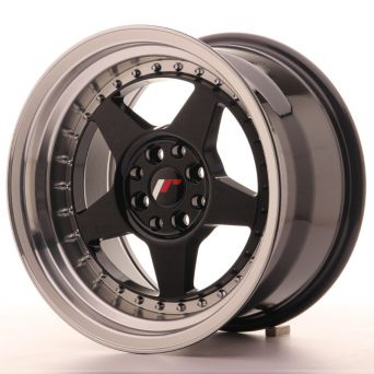 Japan Racing Wheels - JR-6 Glossy Black (17x10 inch)