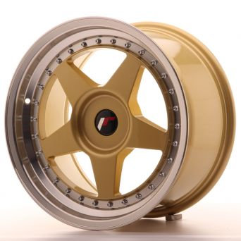 Japan Racing Wheels - JR-6 Gold (17x9 inch)