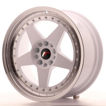 Japan Racing Wheels - JR-6 White (18x8.5 inch)