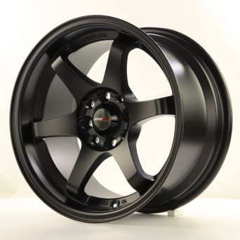 Japan Racing Wheels - JR-3 Matt Black (15 inch)