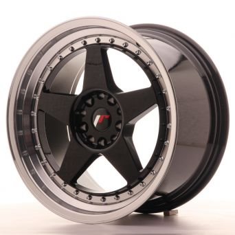 Japan Racing Wheels - JR-6 Glossy Black (18x9.5 inch)