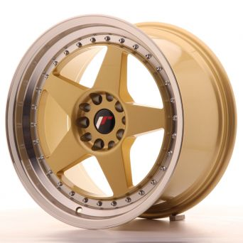 Japan Racing Wheels - JR-6 Gold (18x9.5 inch)