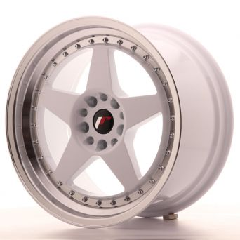 Japan Racing Wheels - JR-6 White (18x9.5 inch)