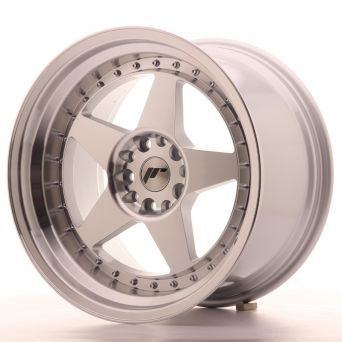 Japan Racing Wheels - JR-6 Silver Machined (18x10.5 Zoll)