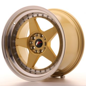 Japan Racing Wheels - JR-6 Gold (18x10.5 Zoll)