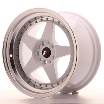 Japan Racing Wheels - JR-6 White (18x10.5 inch)