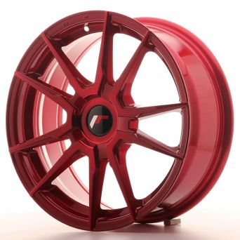 Japan Racing Wheels - JR-21 Plat Red (17x7 inch)
