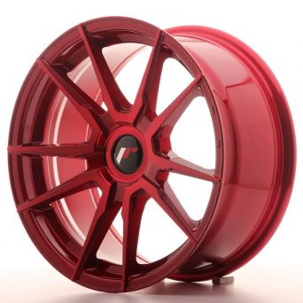 Japan Racing Wheels - JR-21 Plat Red (17x8 inch)