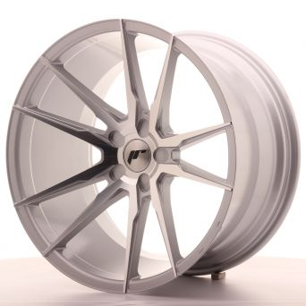 Japan Racing Wheels - JR-21 Silver Machined (21x11 inch)