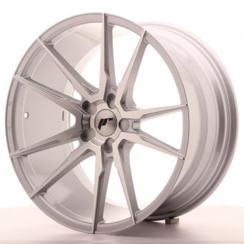 Japan Racing Wheels - JR-21 Silver Machined (22x9.5 inch)