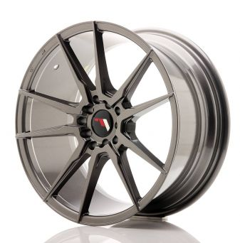 Japan Racing Wheels - JR-21 Hiper Black (18x8.5 inch)