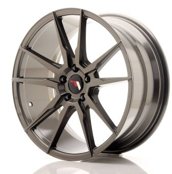 Japan Racing Wheels - JR-21 Hiper Black (19x8.5 inch)