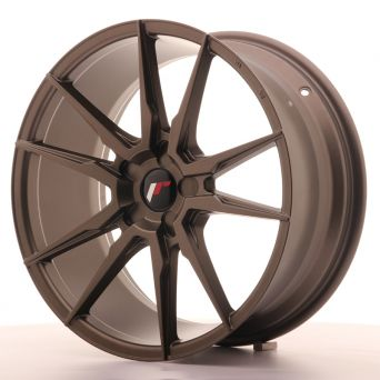 Japan Racing Wheels - JR-21 Matt Bronze (19x8.5 inch)
