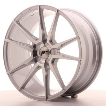 Japan Racing Wheels - JR-21 Silver Machined (19x8.5 inch)