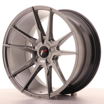 Japan Racing Wheels - JR-21 Hiper Black (19x9.5 inch)