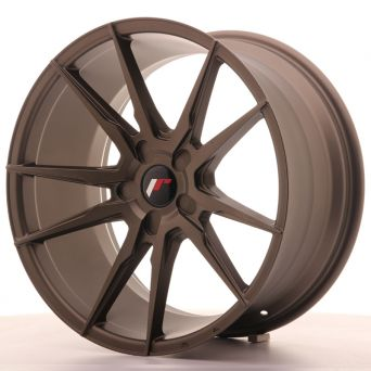 Japan Racing Wheels - JR-21 Matt Bronze (19x9.5 inch)