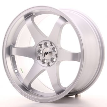 Season Sale - Japan Racing Wheels - JR-3 Matt Silver (19x9.5 Zoll)