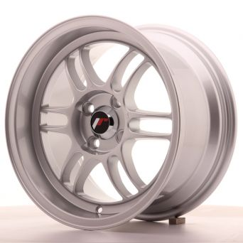Season Sale - Japan Racing Wheels - JR-7 Silver (15x8 inch)