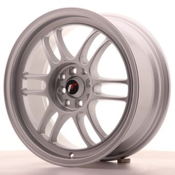 Season Sale - Japan Racing Wheels - JR-7 Silver (17x9 inch)