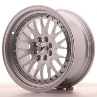 Season Sale - Japan Racing Wheels - JR-10 Full Silver (16x8 Zoll)