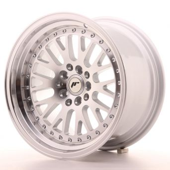 Season Sale - Japan Racing Wheels - JR-10 Silver Machined (16x9 inch)